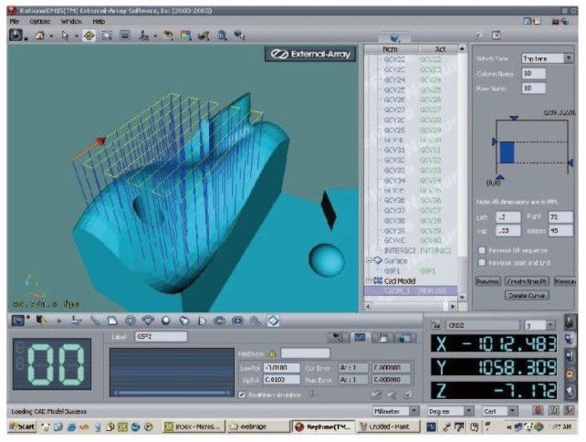 Rational DMIS 3d Measurement Software 32 / 64 Bits With CAD Module Graphical Display