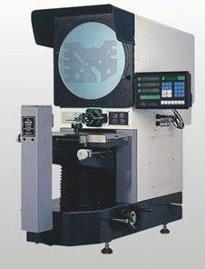 Ф400mm Horizontal Profile Projector 0.005 Mm Resolution Optical Comparator Accuracy
