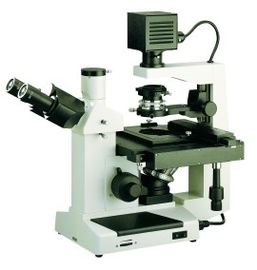 Cell / Liquid Observing Inverted Biological Microscope With Switchable Condenser