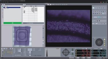 2D VMM Video Measurement Software With Edge Measuring Grey / Color Filter
